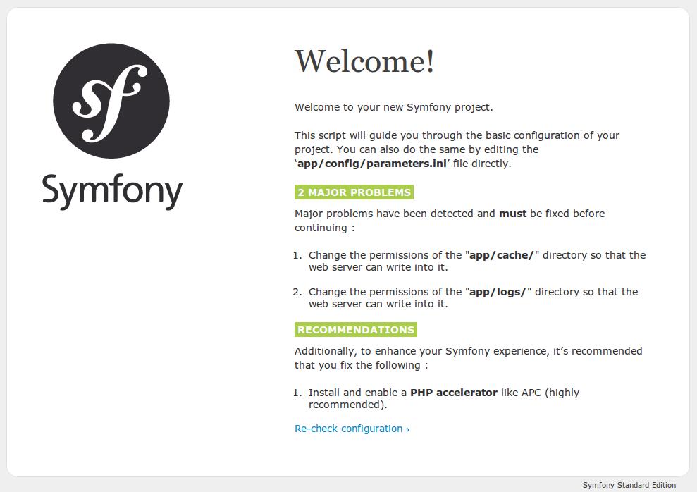 Symfony2 config