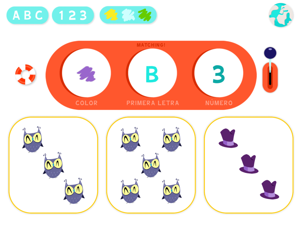 Matching! Mi primer brain training